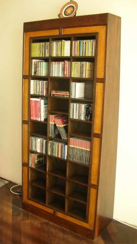 Accessori e complementi d 39 arredo produzione da frammenti - Mobile porta cd ...