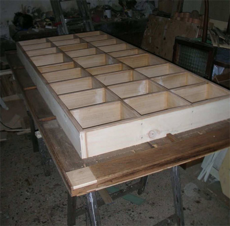 Accessori e complementi d 39 arredo produzione da frammenti - Costruire un mobile in legno ...